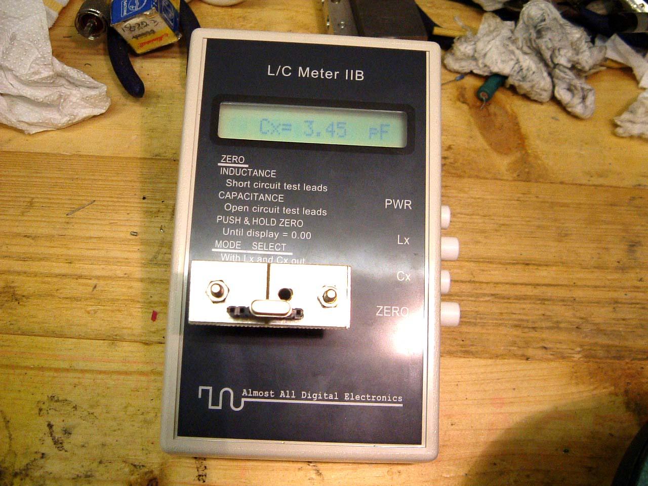 Radio Shack Capacitance Meter : Rf inductance meter destierro webege